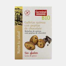 BOLACHA QUINOA E PEPITAS DE CHOCOLATE BIO 250g