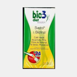 DIET SOLUTION SVETOL + BIOTINA 24 SAQUETAS