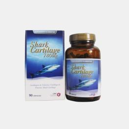CARTILAGEM TUBARAO 780mg 90 CAPSULAS