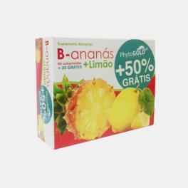 B-ANANAS + LIMAO 60+30 COMPRIMIDOS