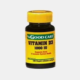 VITAMIN D3 1000IU 100 CAPSULAS GOOD CARE