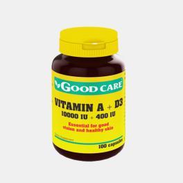 VITAMIN A + D3 100 CAPSULAS