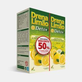 DRENA LIMAO DETOX 2x500ml 50% DESC 2ª EMBALAGEM