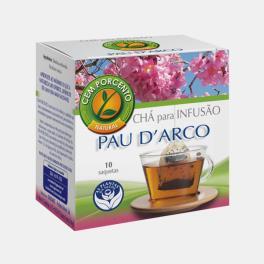 CHA PAU D'ARCO INFUSAO 10 SAQUETAS