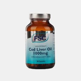 COD LIVER OIL 1000MG FSC 60 CAPSULAS