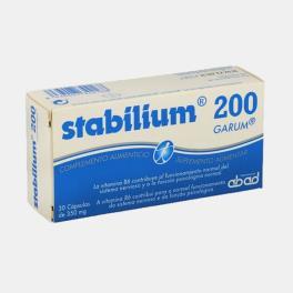 STABILIUM 200 30 CAPSULAS