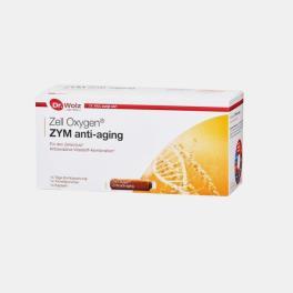 ZELL OXYGEN ZYM ANTI-AGING 14 AMPOLAS + 14 CAPS