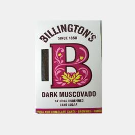 ACUCAR MASCAVADO BILLINGTONS ESCURO 500g