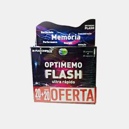 KIT OPTIMEMO FLASH ULTRA RAPIDO 20 AMPOLAS+20 CAPS