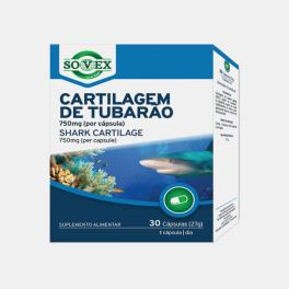 CARTILAGEM DE TUBARAO 750mg 30 CAPSULAS