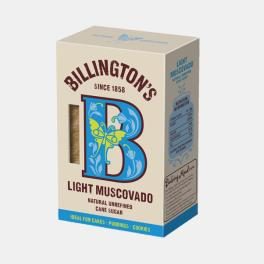 ACUCAR MASCAVADO BILLINGTONS CLARO 500g
