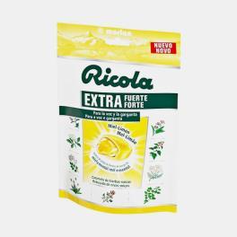RICOLA RECHEIO MEL - LIMAO EXTRA FORTE 61g