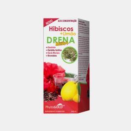 DRENA HIBISCOS + GENGIBRE 500ml