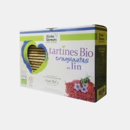 TARTINES CROCANTES S/ GLUTEN DE LINHO BIO 200g