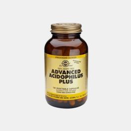 ADVANCED ACIDOPHILUS PLUS 120 CAPSULAS SOLGAR