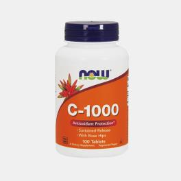 C-1000 SEM BIOFLAVENOIDES 100 COMPRIMIDOS NOW