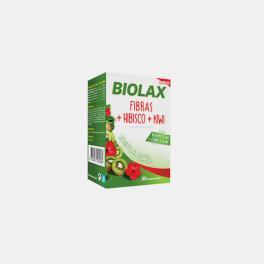 BIOLAX FIBRAS + HIBISCO + KIWI 30 COMPRIMIDOS