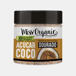 ACUCAR DE COCO BIOLOGICO DOURADO 330g