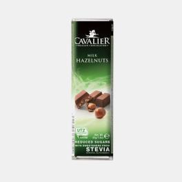 CHOCOLATE DE LEITE BELGA E AVELA 40g