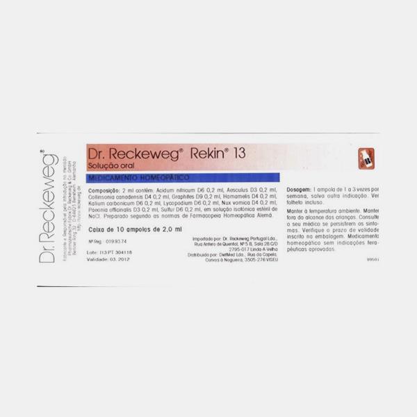 REKIN 13 10 AMPOLAS - Girassol