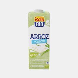 BEBIDA DE ARROZ C/ CALCIO BIO 1Lt ISOLA