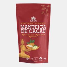 MANTEIGA DE CACAU BIO ISWARI 125g