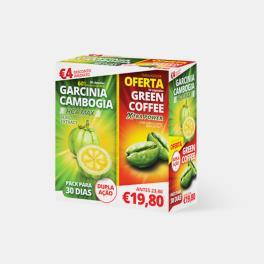 GARCINIA 30 CAPSULAS + GREEN COFFEE 30 CAPSULAS
