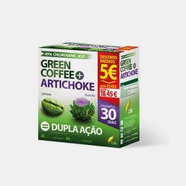 GREEN COFFEE+ARTICHOKE 30 COMPRIMIDOS+60 CAPSULAS