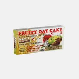 BARRA FRUITY OAT CAKE MACA CANELA 80g