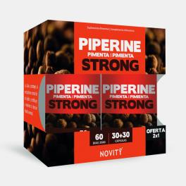 PIPERINE STRONG PACK ECONOMICO 30+30 CAPSULAS