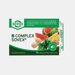 B COMPLEX 30 CAPSULAS SOVEX
