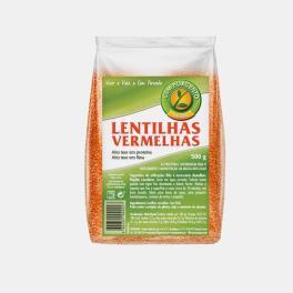 LENTILHAS VERMELHAS 500g