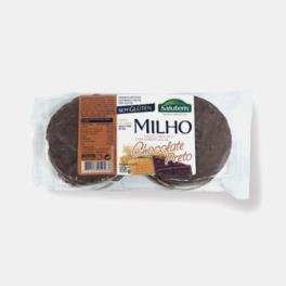 GALETE MILHO + CHOCOLATE PRETO 100g