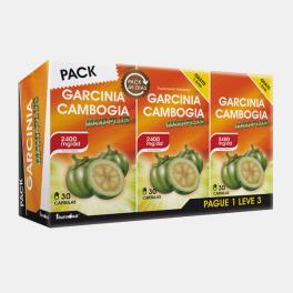 PACK GARCINIA CAMBOGIA MAXI-PLUS PAGUE 1 LEVE 3