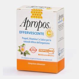 APROPOS C 20 COMPRIMIDOS EFERVESCENTES